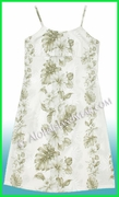 Girl Sun Dress - 434White