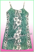 Girl Sun Dress -805Green
