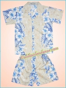 Hawaiian Boy Set - 805Cream