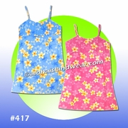 Hawaiian Girl sun Dress - 417