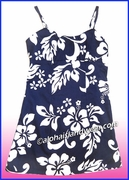 Girl Sun Dress - 354Navy