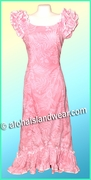 Pink Hawaiian Island Dress