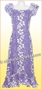 Hawaiian Island Dress - 2130Purple
