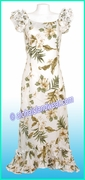 Hawaiian Island Dress - 403White