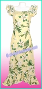 Hawaiian Island Dress - 403Yellow