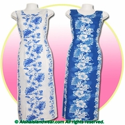 Hawaiian Long Tank Dress - 4340
