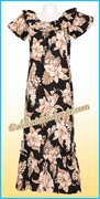 Hawaiian Muumuu Full Length - 383Black