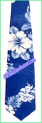 Hawaiian Necktie - 4340Navy