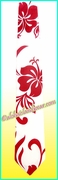Hawaiian Necktie - 486Red