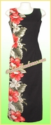 Hawaiian Paradise Dress - 477Black