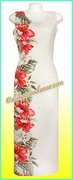 Hawaiian Paradise Dress - 477White