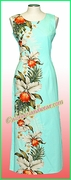 Hawaiian Paradise Dress - 505Aqua