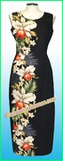 Hawaiian Paradise Dress - 505Black