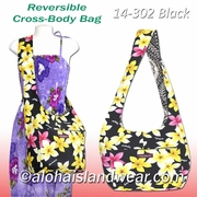 Reversible Cross-Body Shoulder Bag -902Black