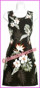 Hawaiian Tank Dress - 402Black