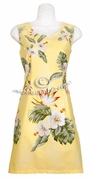 Hawaiian Tank Dress - 402Yellow