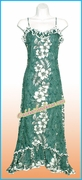 Hawaiian Spaghetti Dress - 805Green