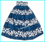 Hula Pa'u Skirt - 213Navy