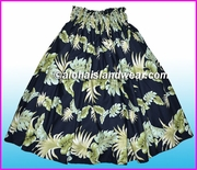 Hula Pa'u Skirt - 438Black