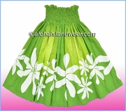 Hula Pa'u Skirt = 2520Green