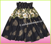 Hula Pa'u Skirt  - 430Black