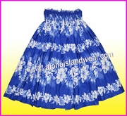 Hula Pa'u Skirt - 4340Navy