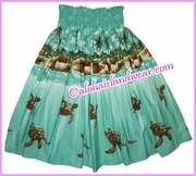 Hula Pa'u Skirt - 460Green