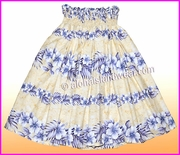 Hula Pa'u Skirt - 805Cream
