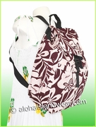 Large Hawaiian Backpack -401Red