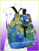 Large Hawaiian Backpack -502Navy