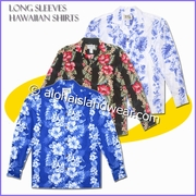 Long Sleeves Hawaiian Shirt