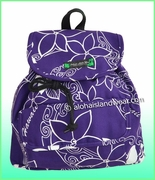 Medium Hawaiian Backpack - 802Purple