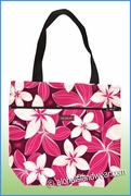 Medium Reversible Hawaiian Print Tote Bag - 154Pink