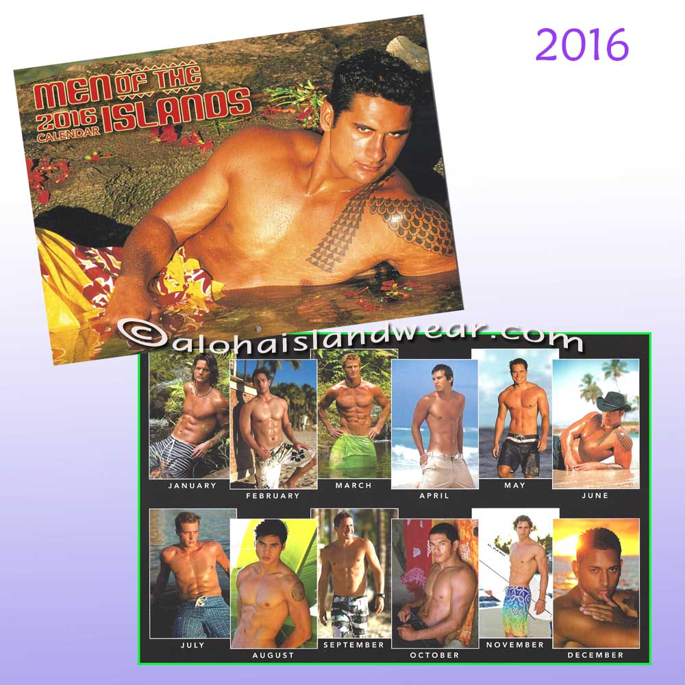 Men Of The Island Calendar