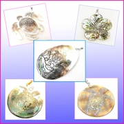 Mother of Pearl Shell Pendants