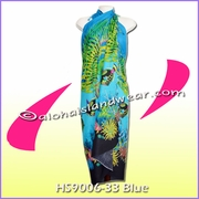 Ocean Reef Hawaiian Sarong - Blue