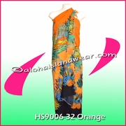 Ocean Reef Hawaiian Sarong - Orange