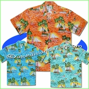 Island Light-House Hawaiian Shirt