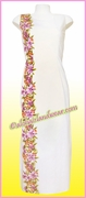 Pink Orchid Hawaiian Paradise Dress - 503White