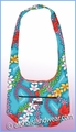 Reversible Cross-Body Shoulder Bag - 904Teal