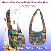 Reversible Cross-Body Shoulder Bag - 702Mix