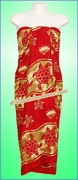 Sea Turtle Hawaiian Sarong - Red