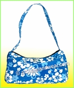 Small Aloha Purse - Blue
