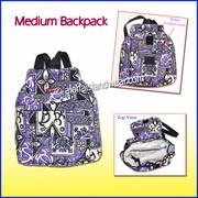 Medium Hawaiian Backpack - 113Purple