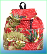 Medium Hawaiian Backpack - 503Red