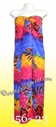Tropical Floral Print Hawaiian Sarong - 23