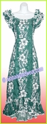 Hawaiian Island Dress - 805Green