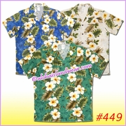 Women Hawaiian Shirt  - 449