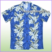 Women Hawaiian Shirt - 456Navy