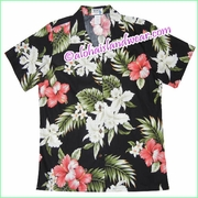 Women Hawaiian Shirt - 466Black